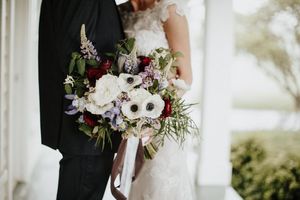 Spring Garden Bridal Bouquet
