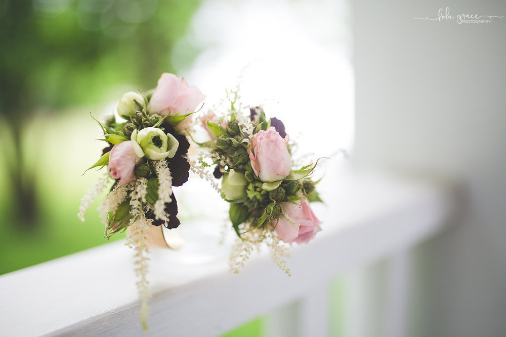 Spring Wrist Corsages