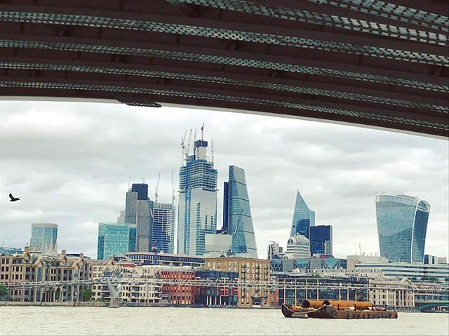 The ever changing London skyline. What's not to love?