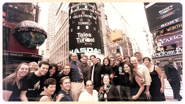 TALES FROM THE TUNNEL rings the NASDAQ closing bell.