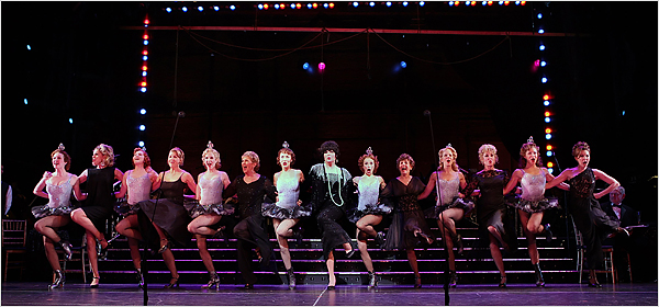 FOLLIES, New York City Center, Directed by Casey Nicholaw, Starring Donna Murphy & Victoria Clark