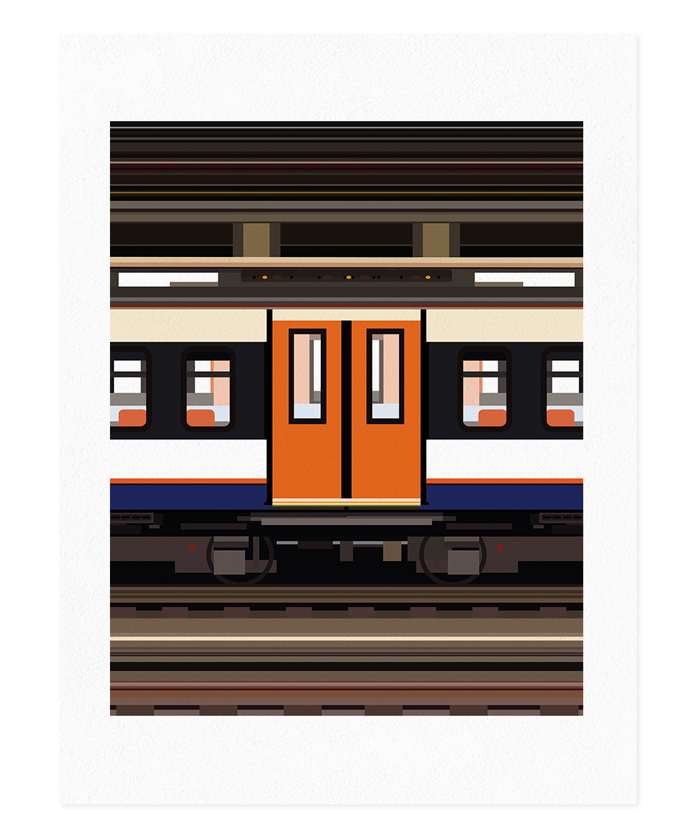 Evelin Toledano – Train Line I, Stockholm