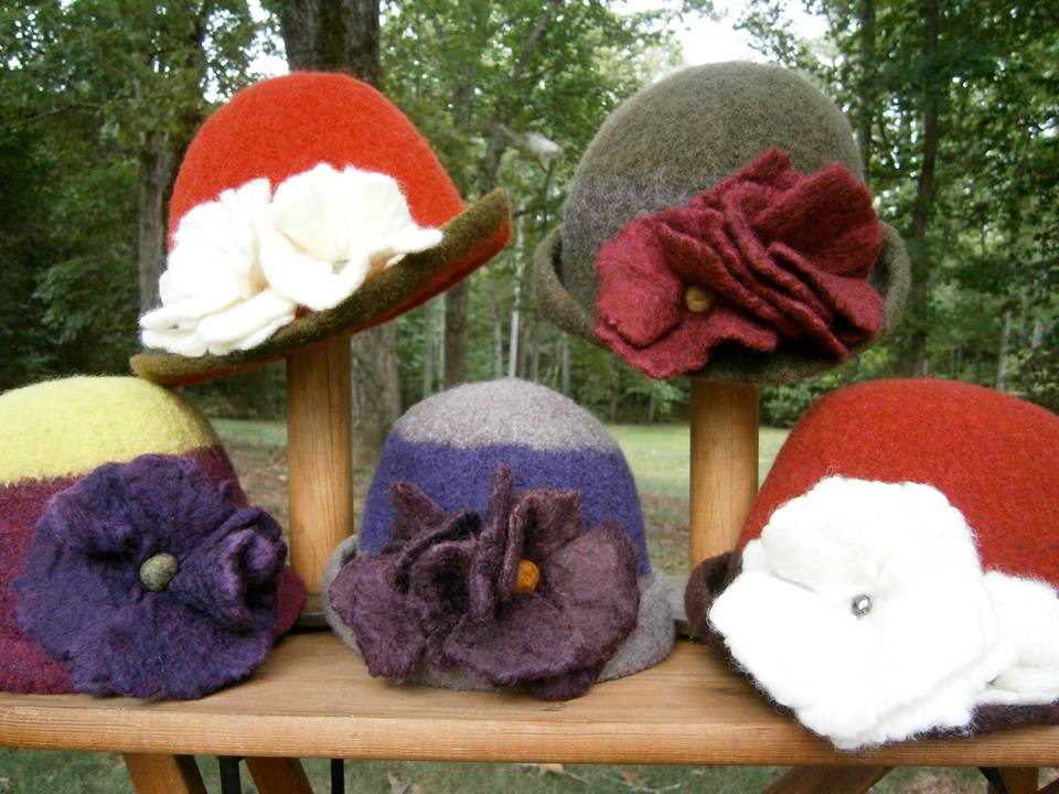 Colleen Hewlett - Felted Items, Soaps, etc.