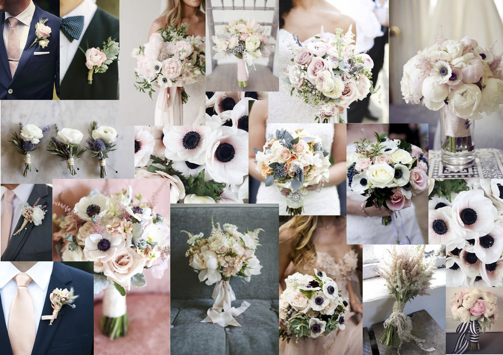 Jessica Charlotte Simmonds | Wedding Styling by Jessica | Steph Bernie Mood board
