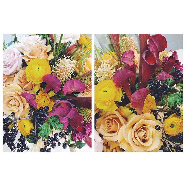 The best colours 🎈🌼🌸💐🐙🌕🌺 with the fabulous @londonflowerschool #comingsoon