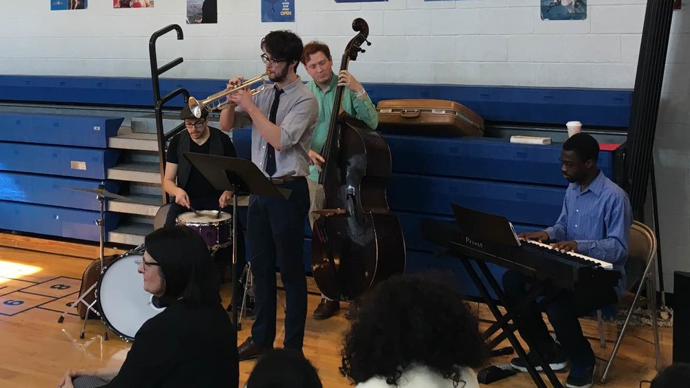 Black History Concert at   Riverside School