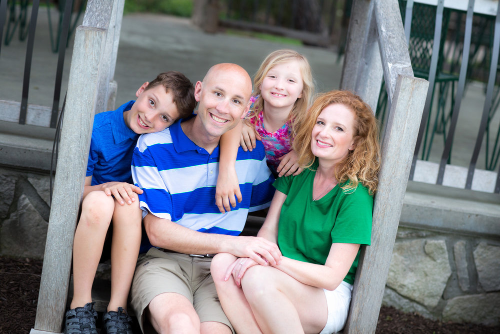 Dr. Jason Hanft and his family.