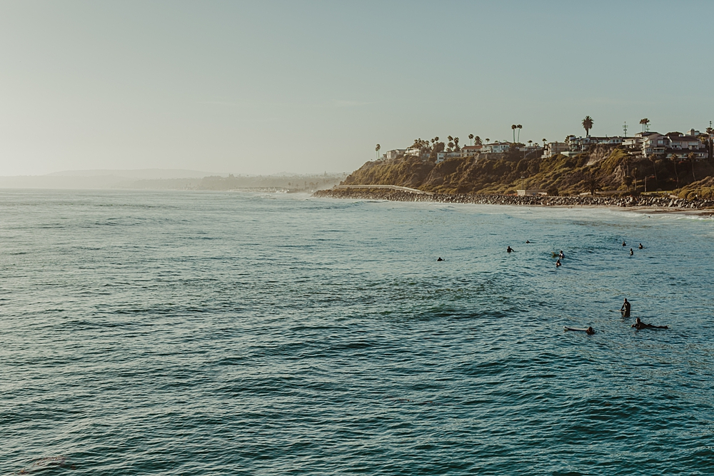 San Clemente from the San Clemente Pier