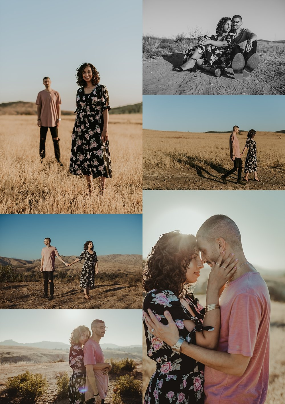 Couples photo session at Irvine Regional Park by Krystil McDowall Photography