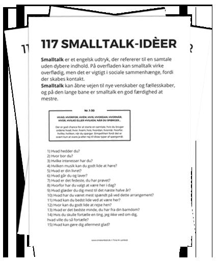 117 SMALLTALK IDEER fra Trine Lønfeldt