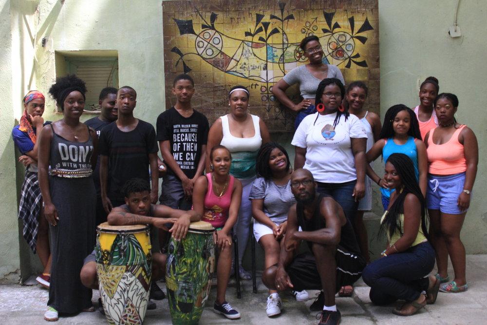 Havana, Cuba Casa de Africa