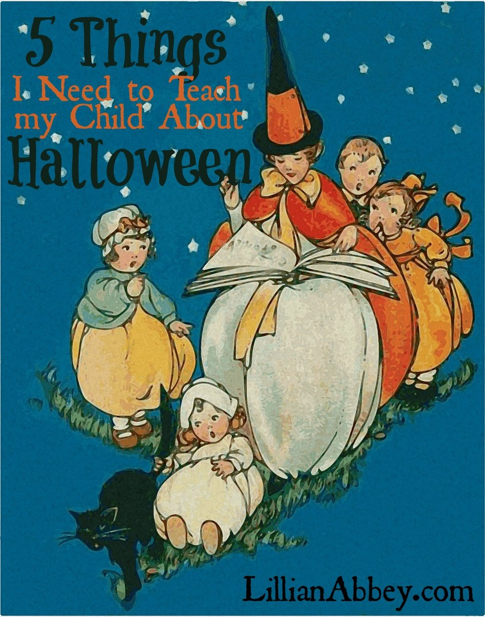 5 things to teach child halloween