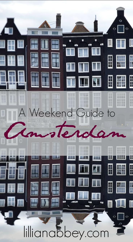 Amsterdamweekend