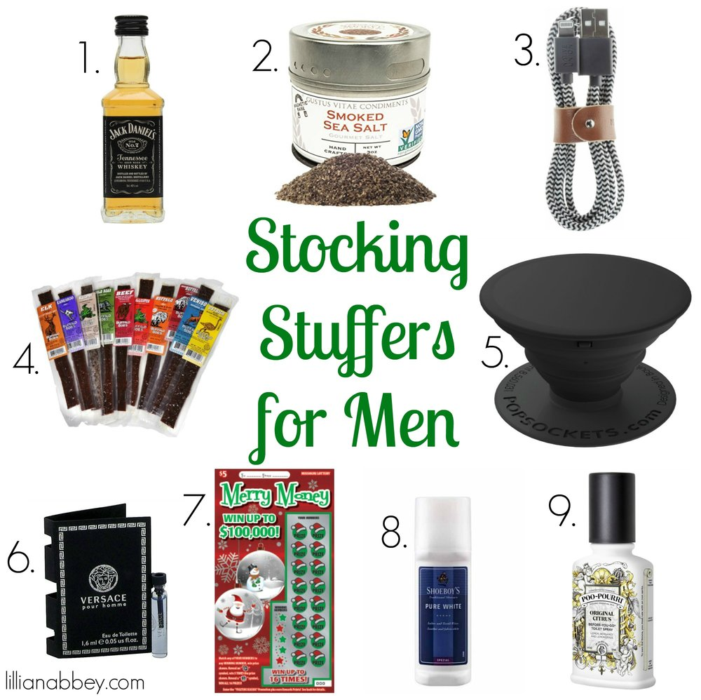 9 Nifty Stocking Stuffers for Men