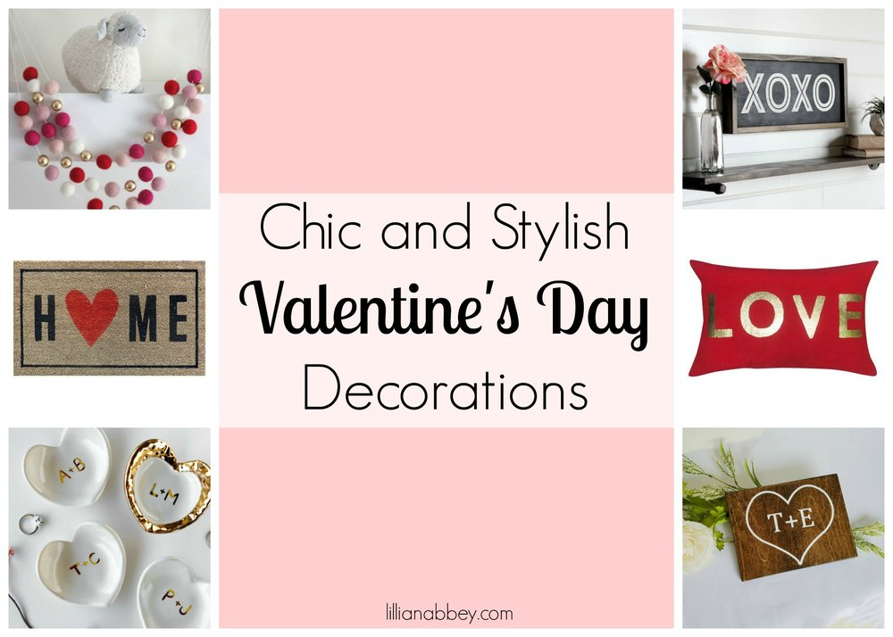Chic and Stylish Valentine's Day Decor