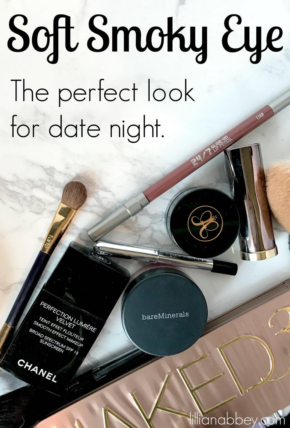 Date Night Makeup: Soft Smoky Eye