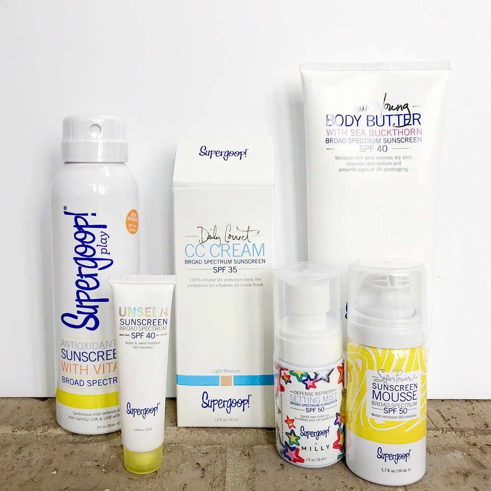Supergoop products