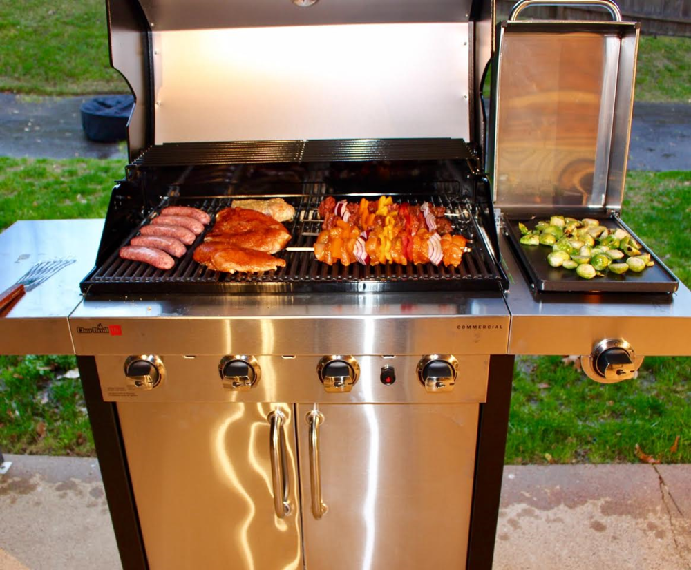 The beautiful Char-Broil TRU-Infrared Grill