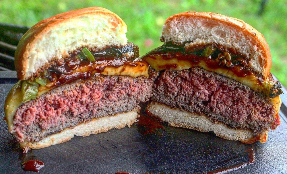 Just look at that burger!
