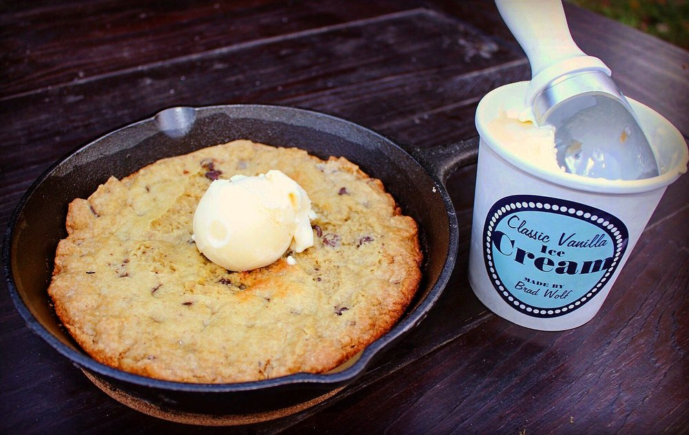 Skillet Cookie & Ice Cream
