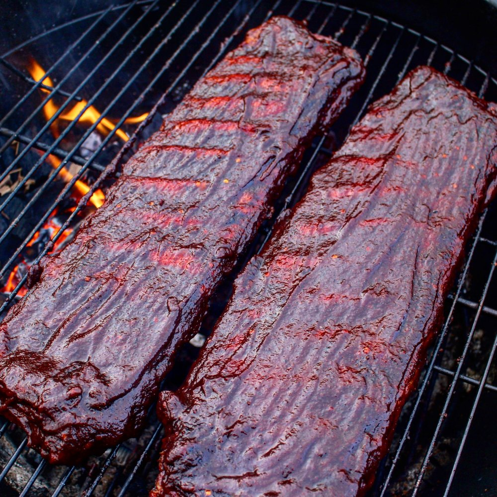 Time to eat some ribs!