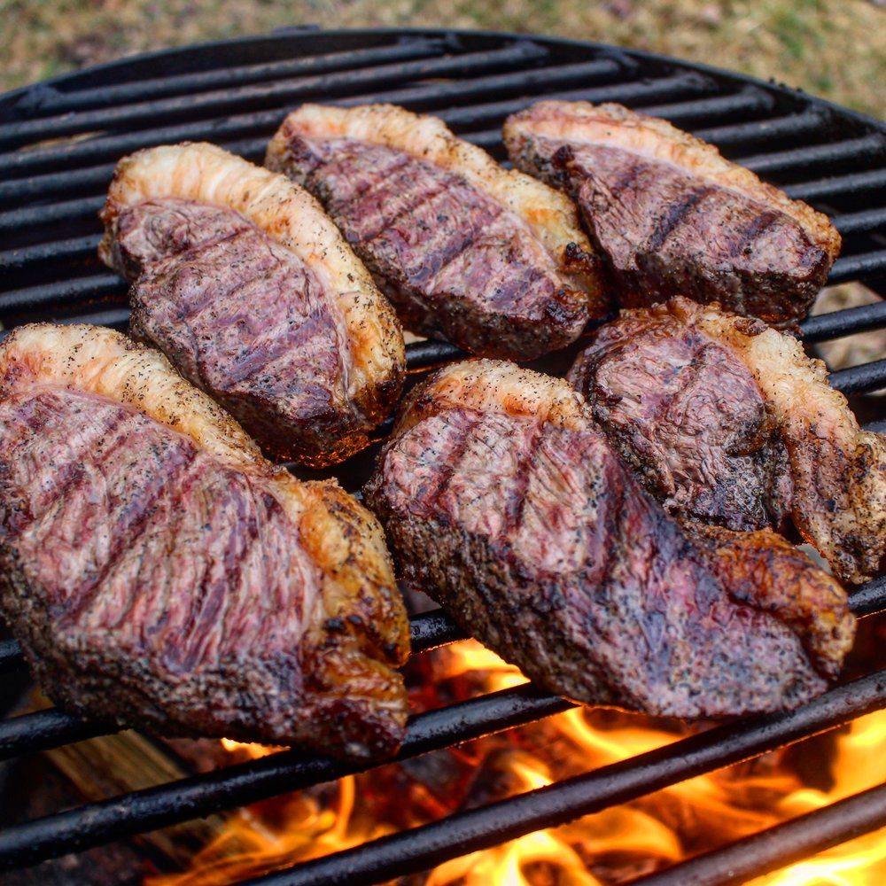 Picanha on the grill!