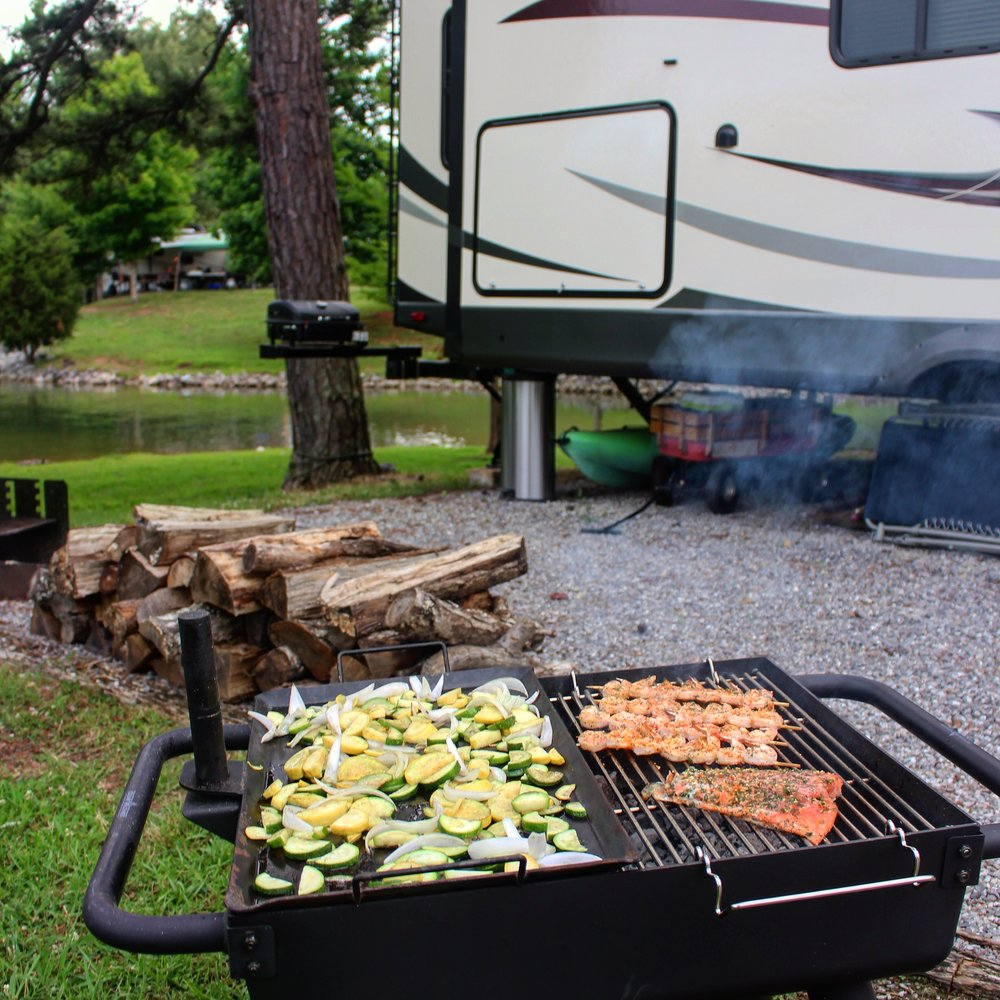 Cook right next to your RV!