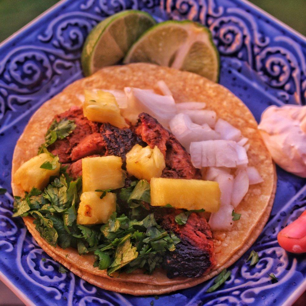 Made into a delicious taco!