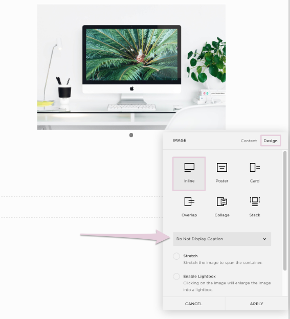 how to remove display caption | squarespace tutorial.png
