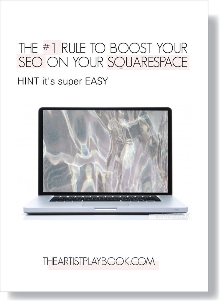 The #1 Rule to Boost your SEO on Squarespace. HINT it's super EASY