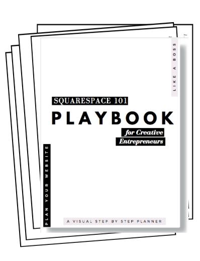 Squarespace 101 playbook