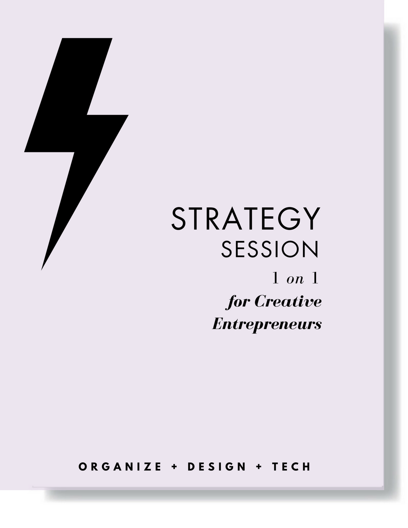 welcome 1 on 1 Strategy Sessions