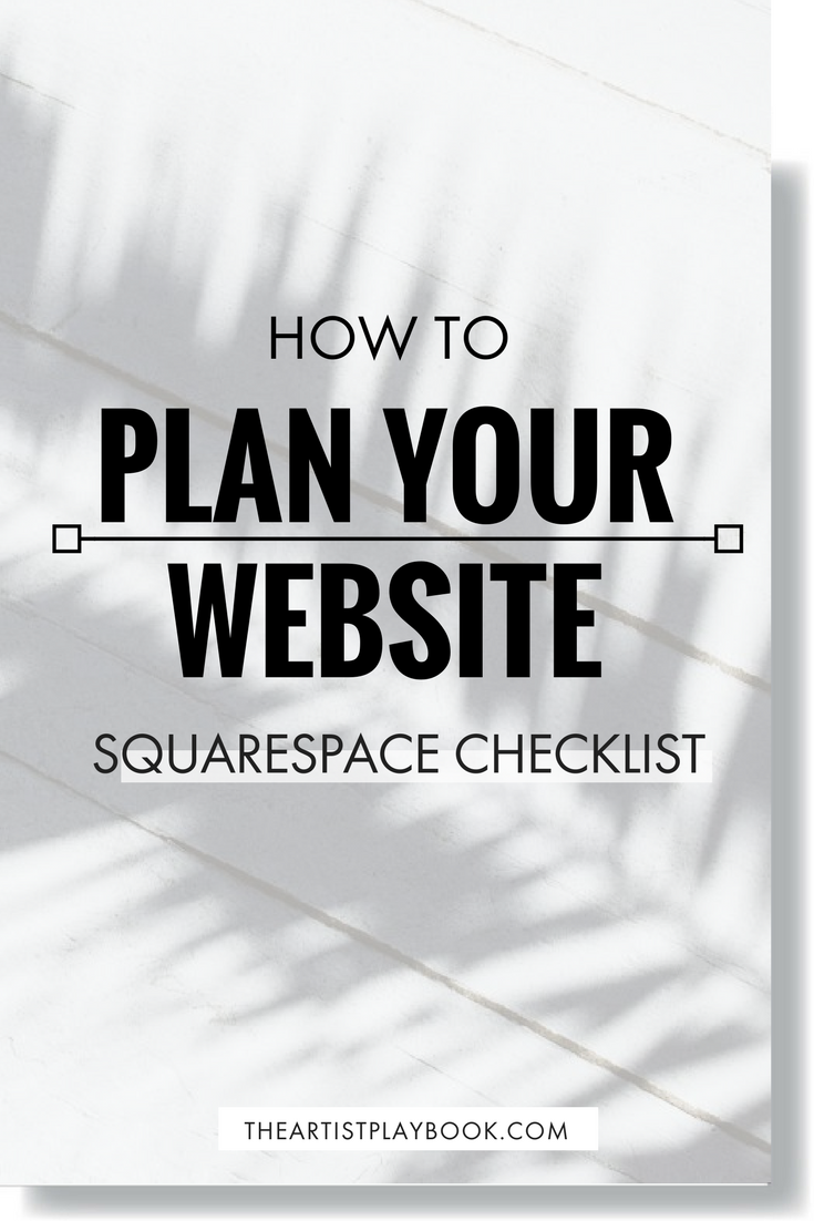 FREE CHECKLIST ➳ How to Plan your Website