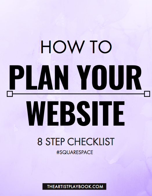 How to Plan your Website - Squarespace Checklist!