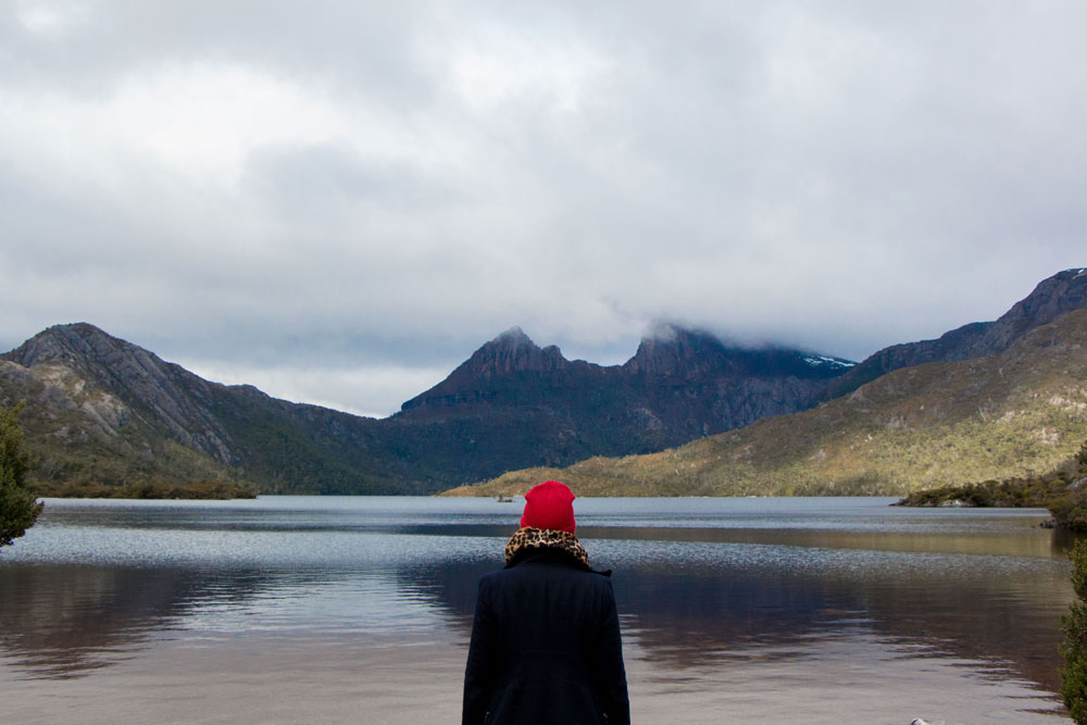 Dove Lake Cradle Mountain Tasmania Australia
