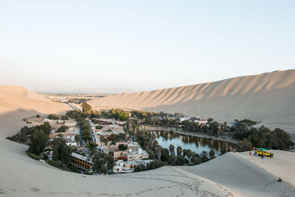 Huacachina Oasis and Mister Weekender