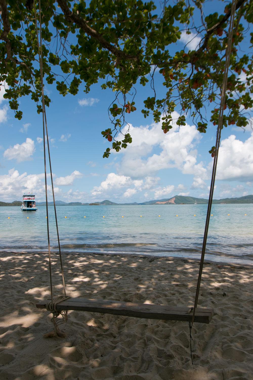 Swing at Lawa Island Phang Nga Bay Thailand