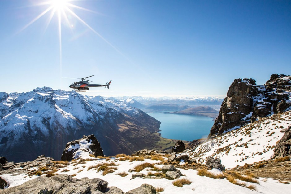 Heli Sking The Remarkables New Zealand