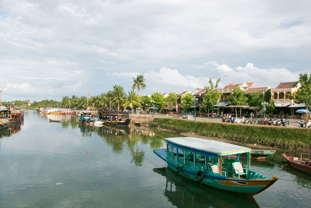 Old Town in Hoi An Vietnam