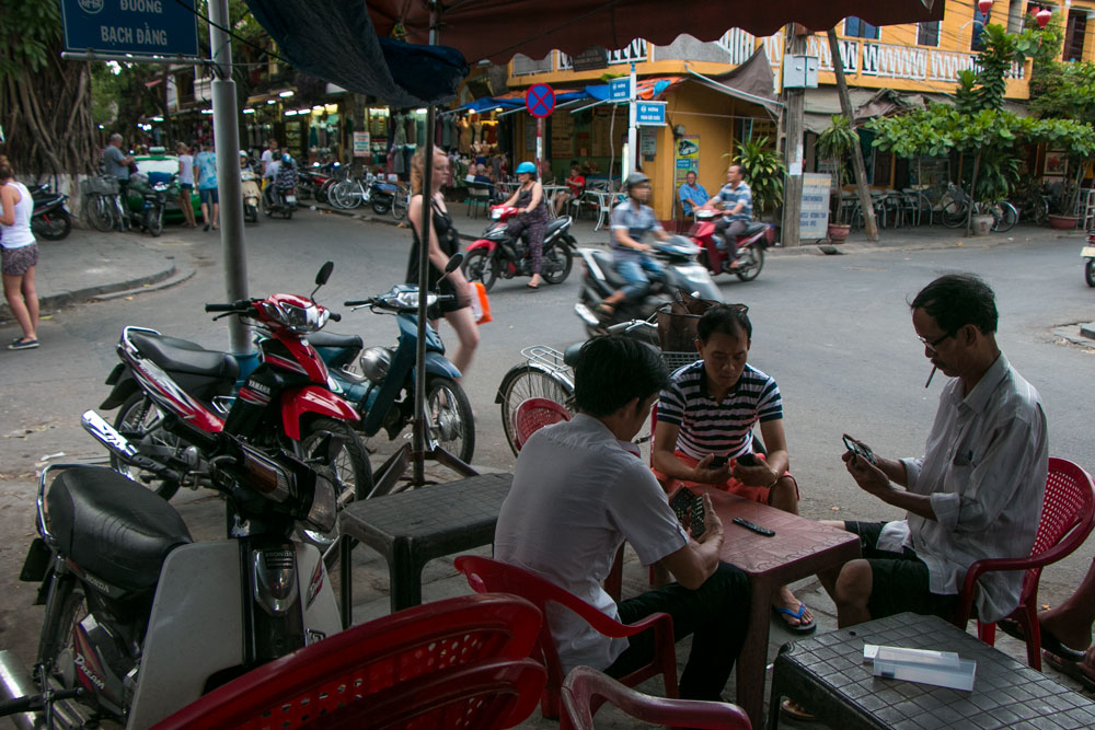 Streets of Hoi An Vietnam