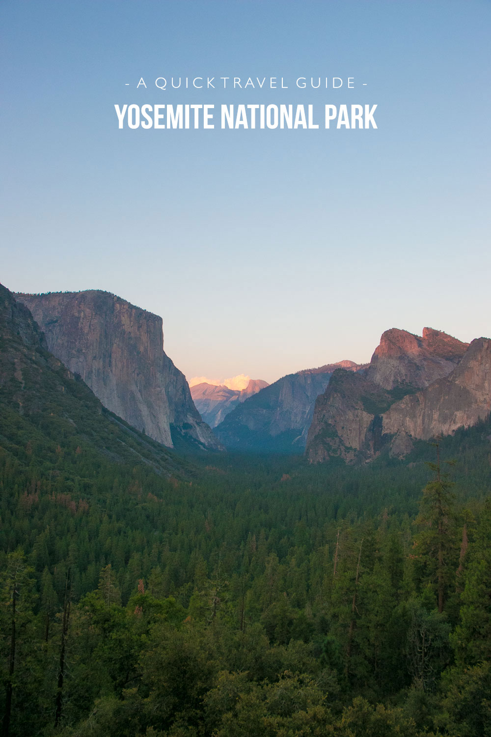 A Quick Travel Guide to Yosemite National Park by Jaharn Giles from Mister Weekender