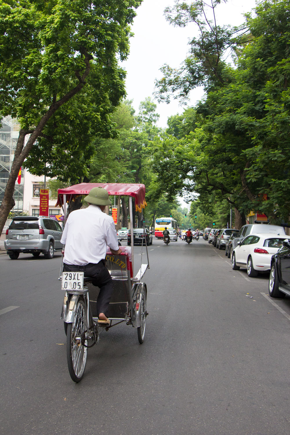 Hanoi Tricycle Vietnam