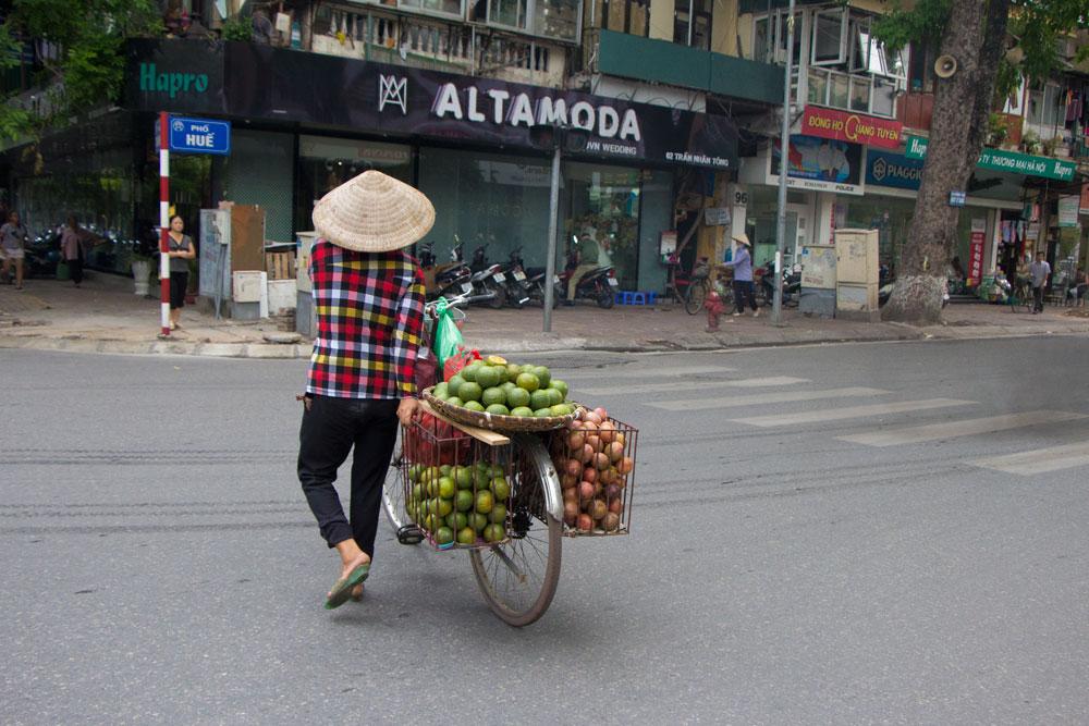 Hanoi Vietnam Fruit Market