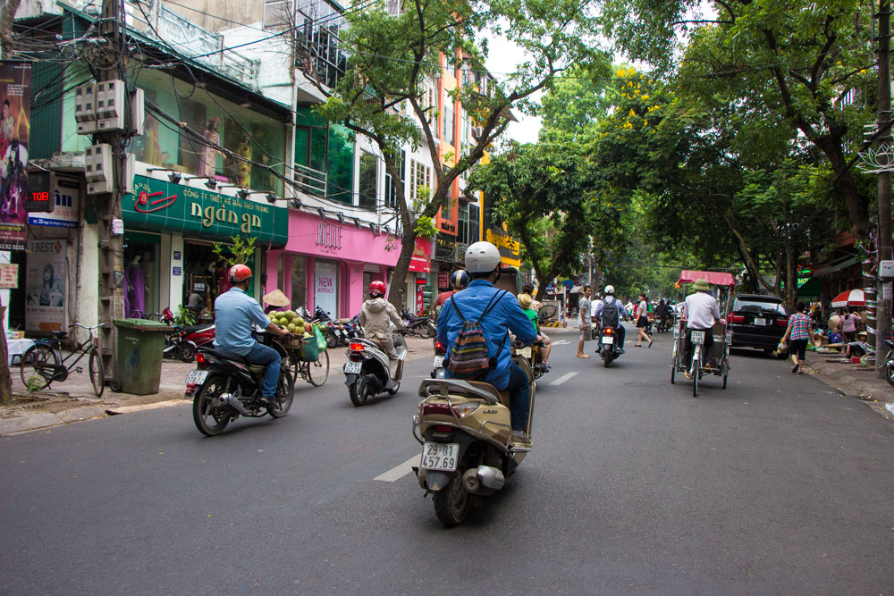 Motorcycle Rules Hanoi Vietnam