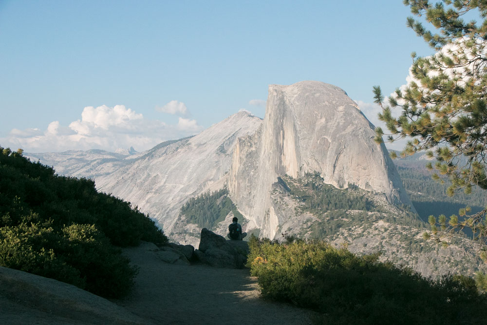 Yosemite National Park Half Dome Glacier Point