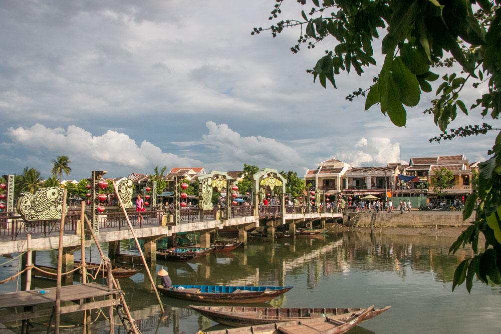 River Hoi Ann Vietnam