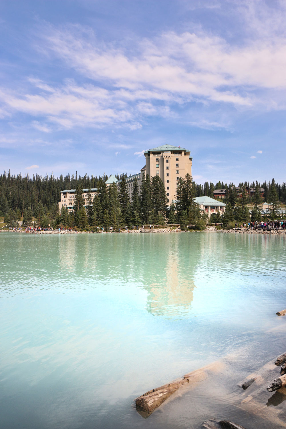 Fairmont Chateau at Lake Louise in Canada