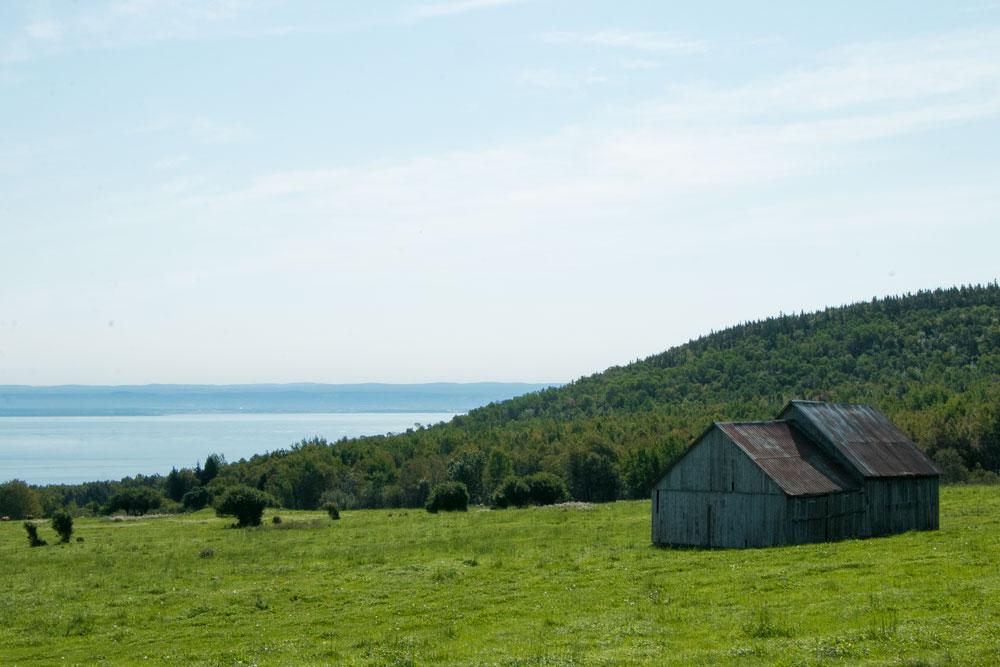 Seaside cabin in Charlevoix
