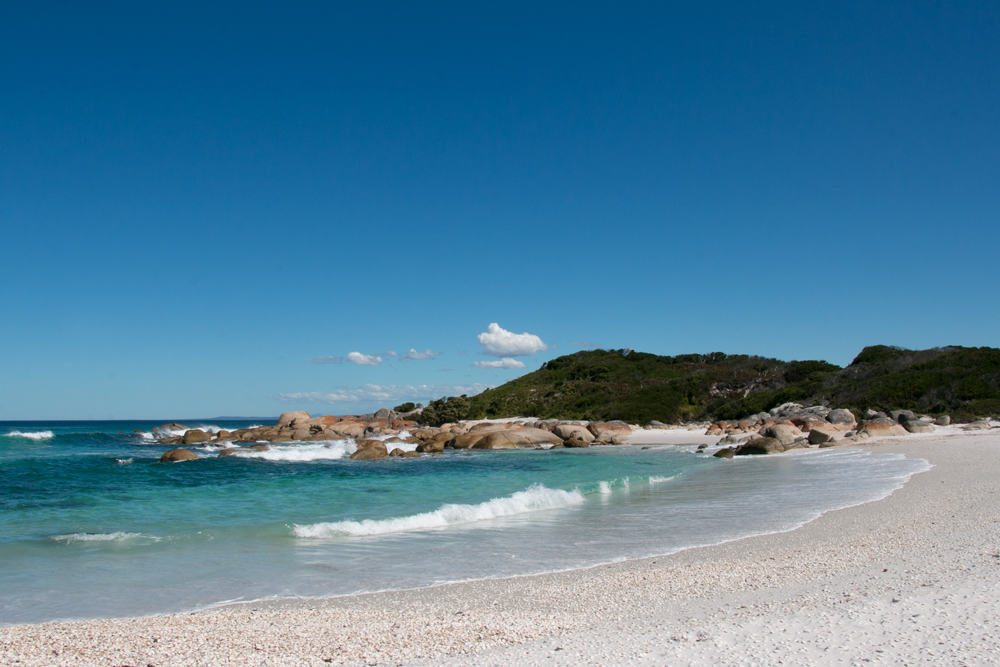 Bay of Fires Walk in Tasmania