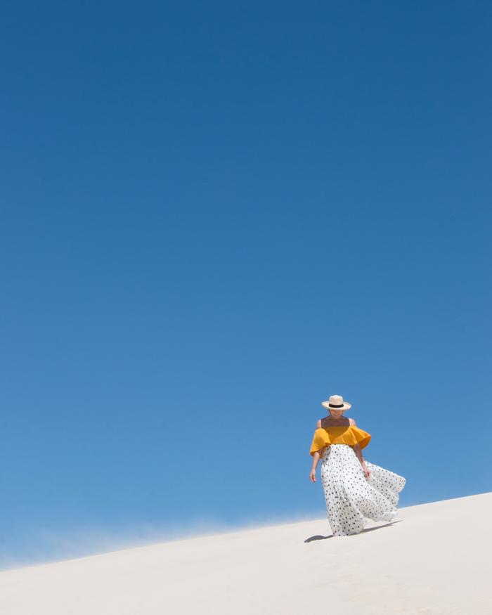 Exploring Little Sahara